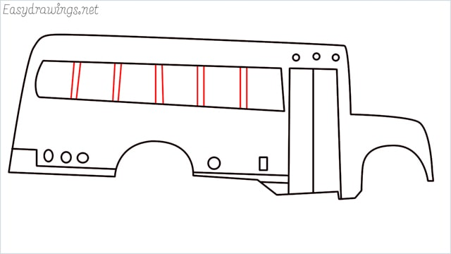 how to draw a school bus step (10)