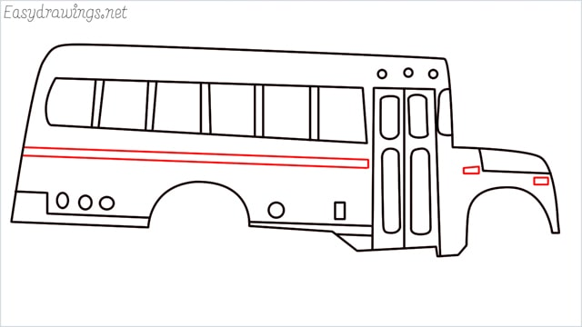 how to draw a school bus step (13)