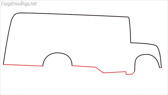 how to draw a school bus step (4)