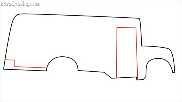 how to draw a school bus step (5)