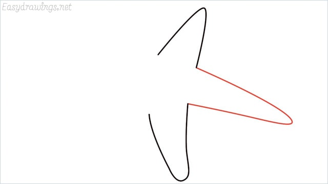 how to draw a starfish step (3)