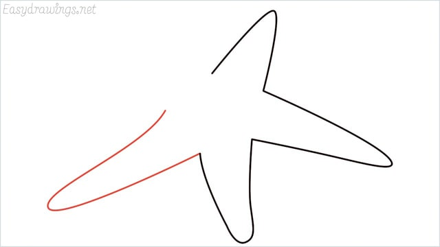 how to draw a starfish step (4)