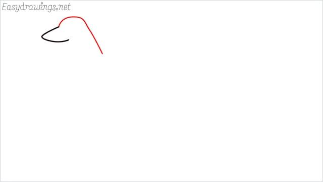 how to draw a suluki dog step (2)