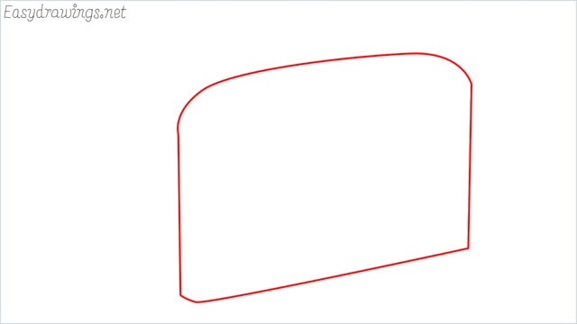 how to draw a toaster step (1)