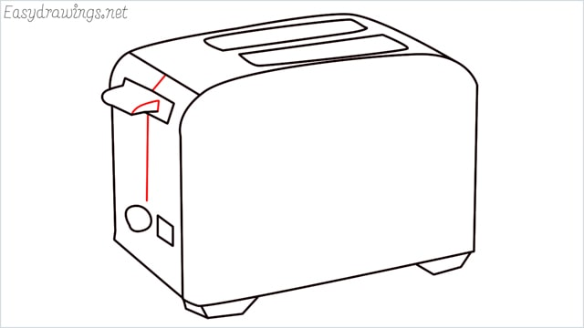 how to draw a toaster step (10)