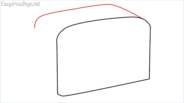 how to draw a toaster step (2)