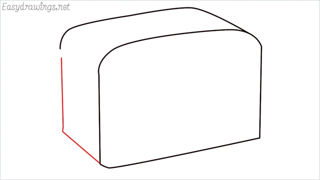 how to draw a toaster step (3)
