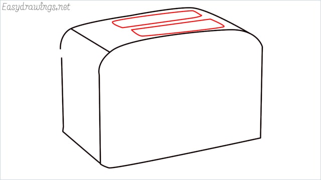 how to draw a toaster step (5)