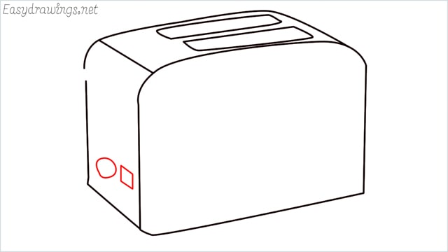 how to draw a toaster step (6)