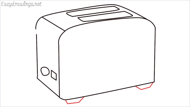 how to draw a toaster step (7)