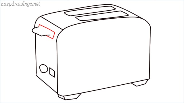 how to draw a toaster step (9)