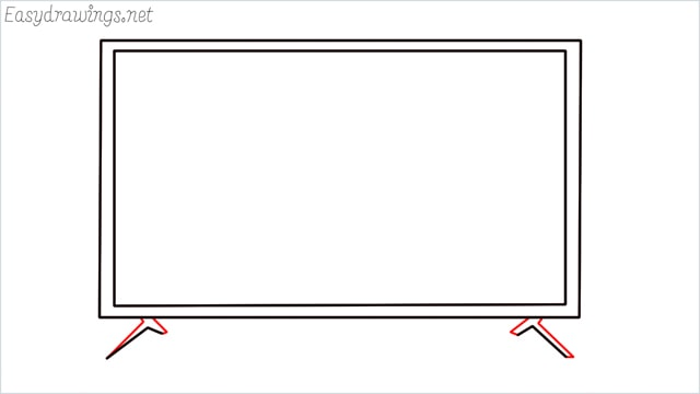 how to draw a tv step (4)