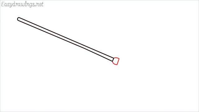 how to draw a witch broom step (2)