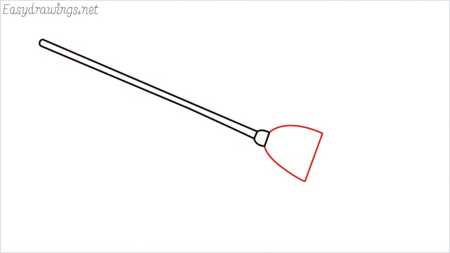 how to draw a witch broom step (3)