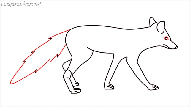 how to draw a wolf step (15)