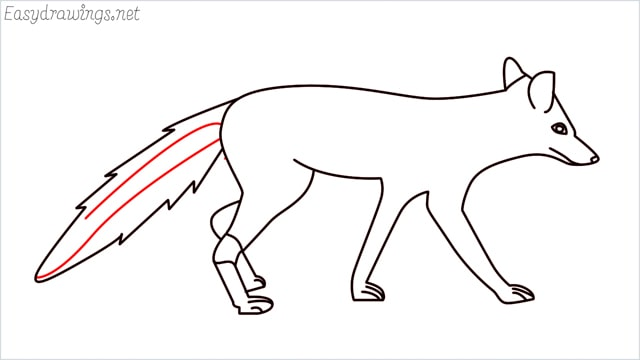 how to draw a wolf step (16)