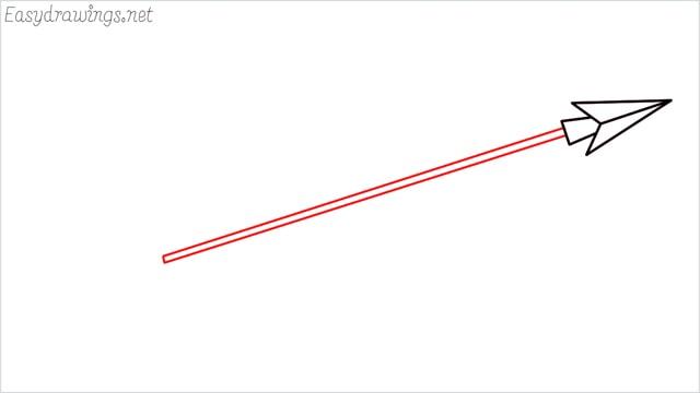 how to draw an arrow step (5)