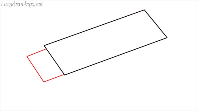 how to draw an eraser step (2)