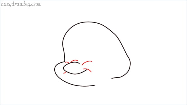 how to draw flounder step (5)