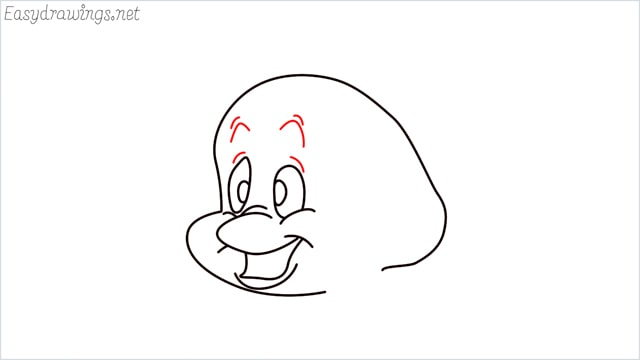 how to draw flounder step (8)
