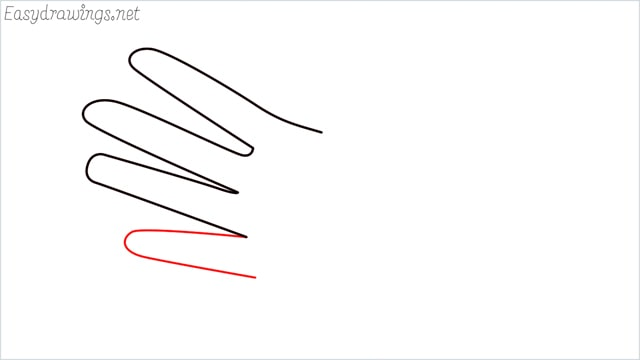 how to draw hands step (3)