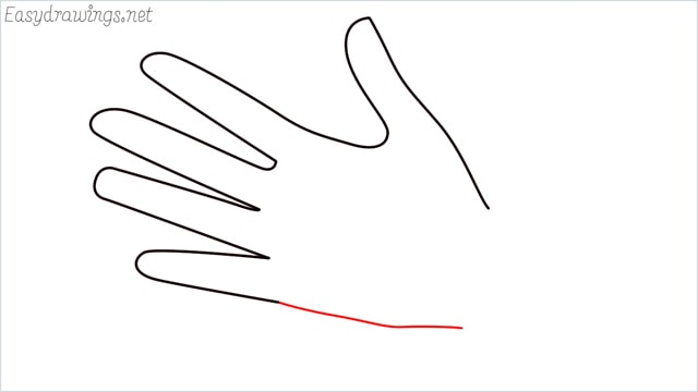 how to draw hands step (5)