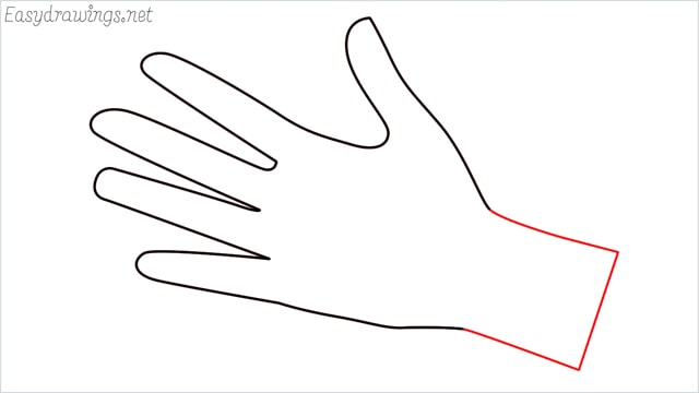 how to draw hands step (6)