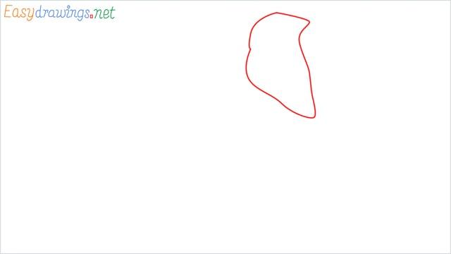 How to draw a elephant step (1)