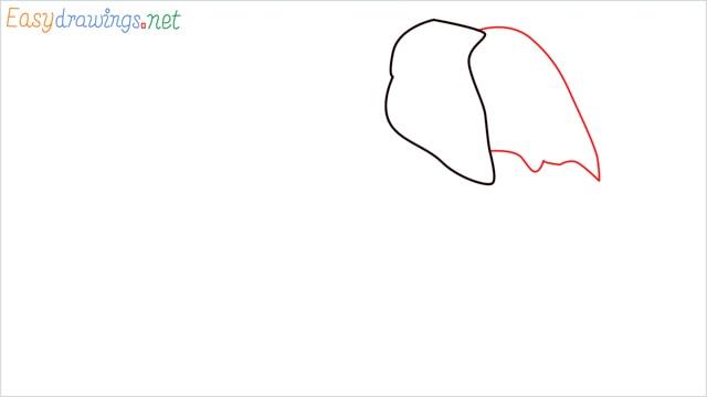 How to draw a elephant step (2)