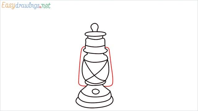 How to draw a lantern step (11)