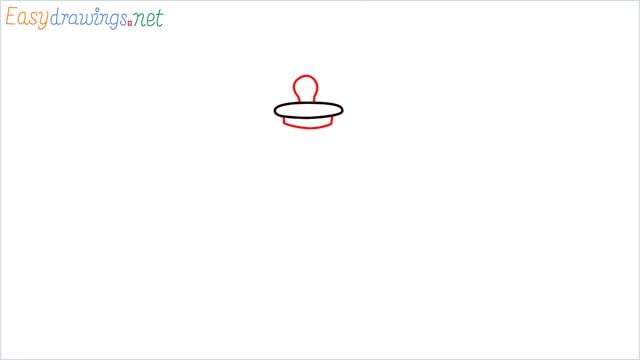 How to draw a lantern step (2)