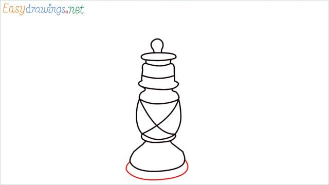 How to draw a lantern step (8)