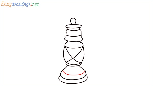 How to draw a lantern step (9)
