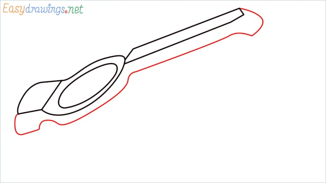 How to draw a lemon squeezer step (5)