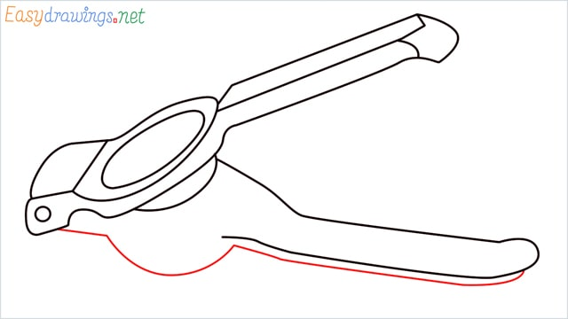 How to draw a lemon squeezer step (9)