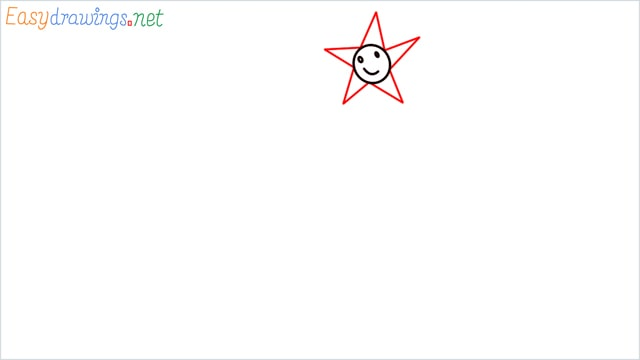 How to drawing a scenery for kindergarten step (3)
