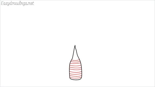 how to draw a Areca tree step (2)