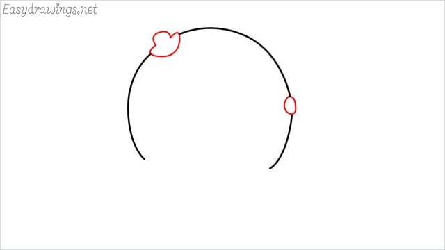 how to draw a Oswald step (2)