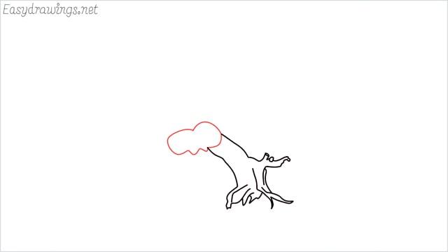 how to draw a bonsai tree step (4)