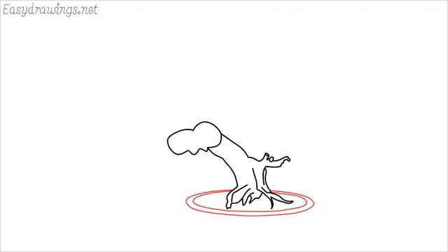 how to draw a bonsai tree step (5)
