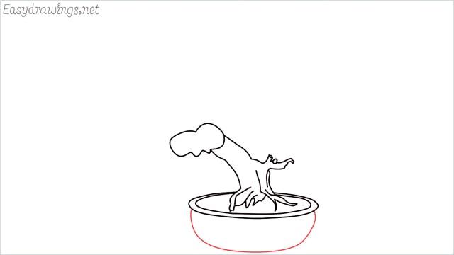 how to draw a bonsai tree step (6)