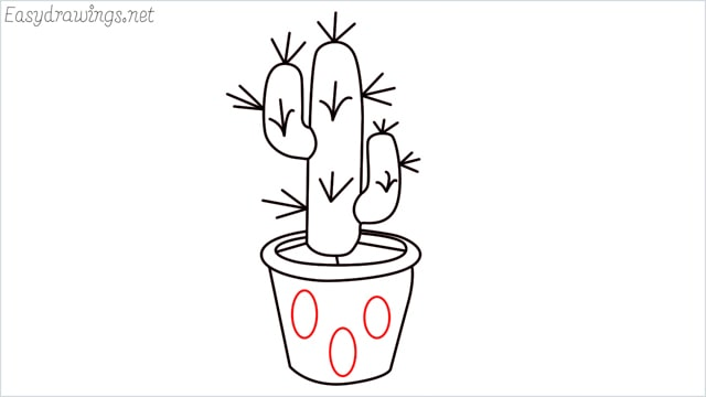 how to draw a cactus step (11)