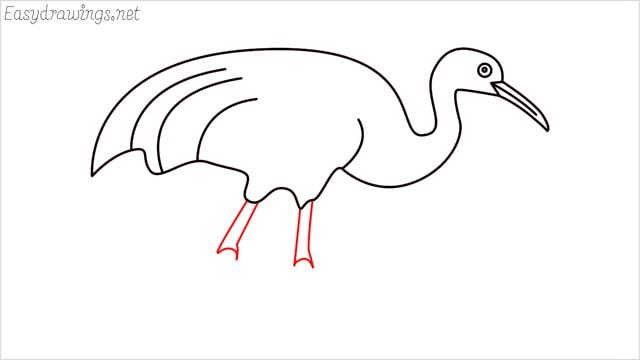 how to draw a crane step (8)