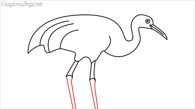 how to draw a crane step (9)