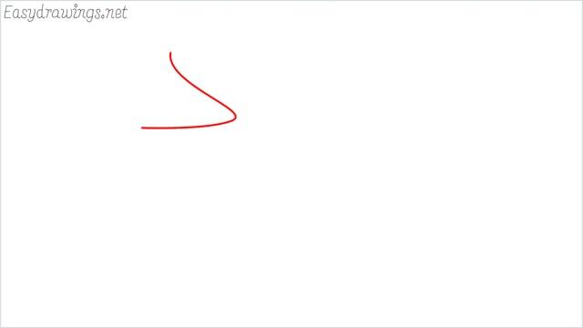 how to draw a eagle head step (1)