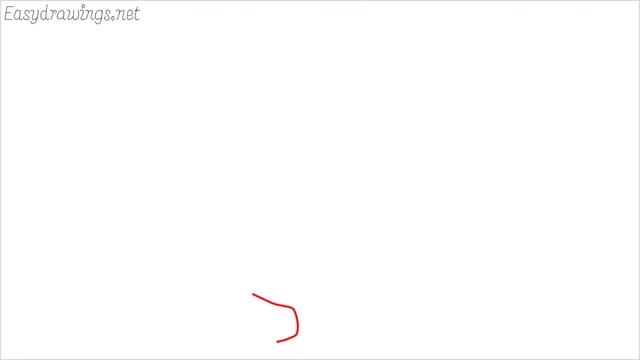 how to draw a fall tree step (1)