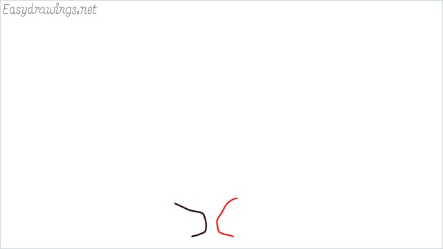 how to draw a fall tree step (2)