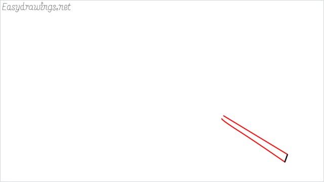 how to draw a leaf step (2)