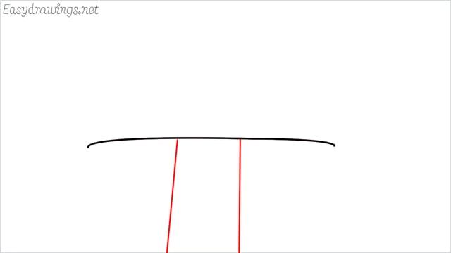 how to draw a mushroom step (2)