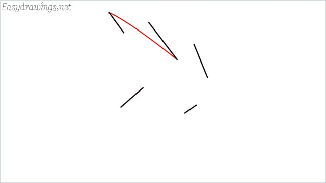 how to draw a simple leaves step (6)